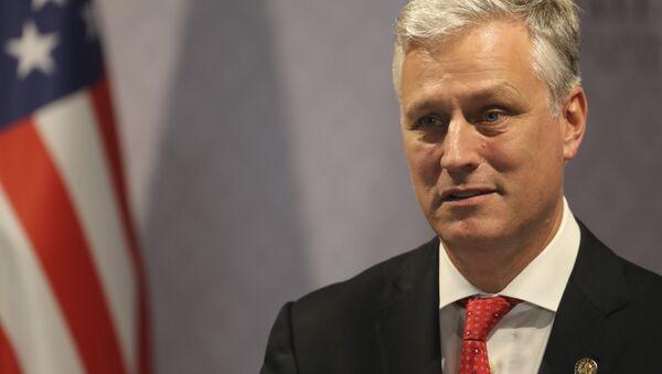 Poradce prezidenta pro národní bezpečnost USA Robert O'Brien - Sputnik Česká republika