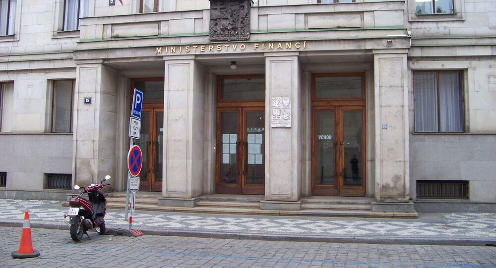 Ministerstvo financí v Praze