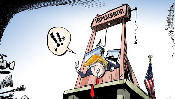 Trumpeachment se nezdařil - Sputnik Česká republika