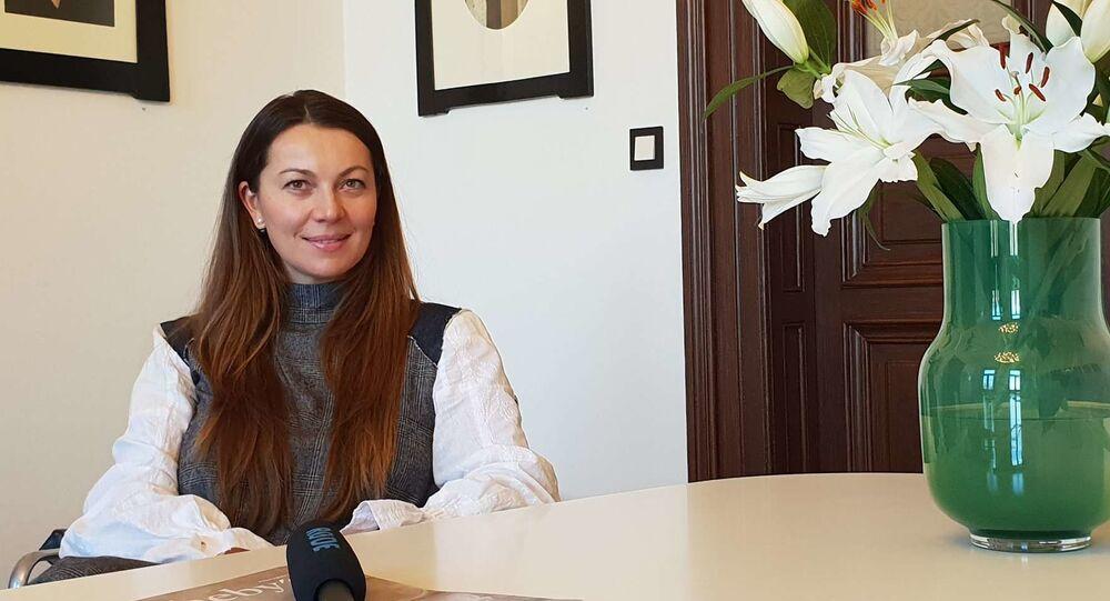 Makléřka Ilona Mančíková ze společnosti Sotheby's Česká republika