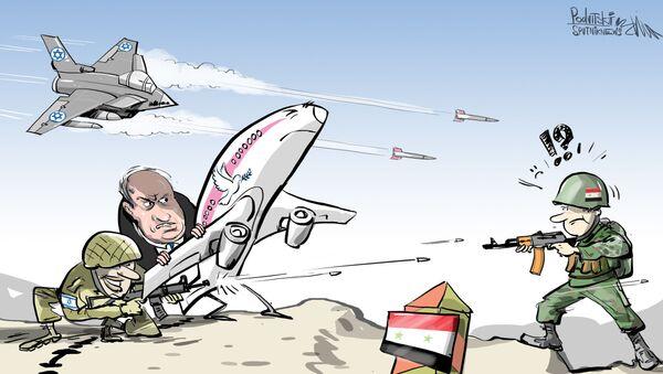 Civilní letadla jako špičky izraelského vojenského letectva - Sputnik Česká republika