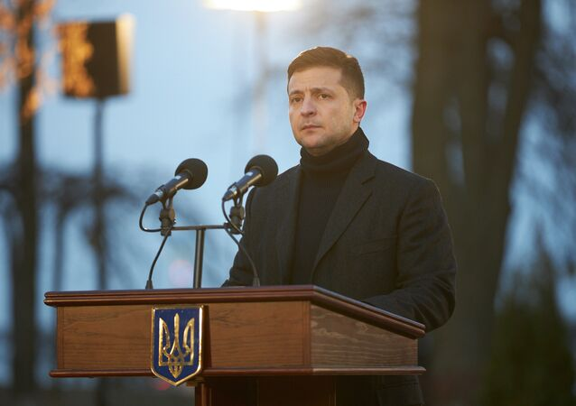 Ukrajinský prezident Volodymyr Zelenskyj byl hospitalizován