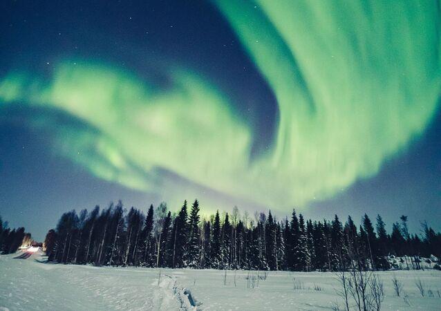 Liščí oheň: Magie polární záře ve Finsku