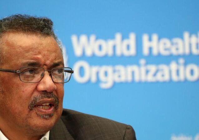 Tedros Adhanom Ghebreyesus, generální ředitel Světové zdravotnické organizace (WHO)