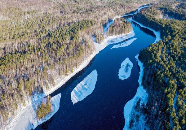 Řeka Šuja v Karelské republice - Sputnik Česká republika