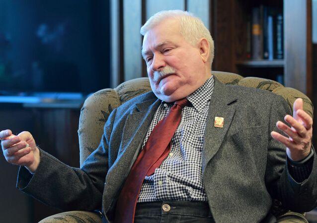 Bývalý polský prezident Lech Wałęsa