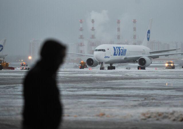 Letadlo společnosti Utair