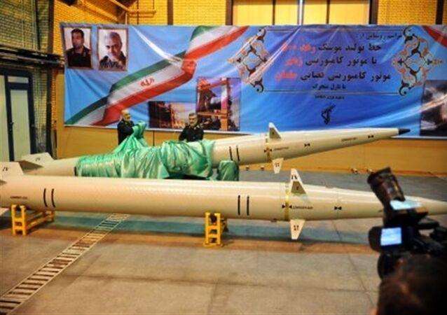 Íránská raketa krátkého doletu Raad-500