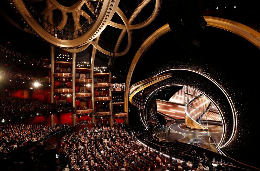 Udělování Oscara 2020 v Los Angeles, USA.