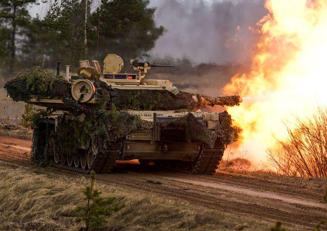 Tank M1 Abrams