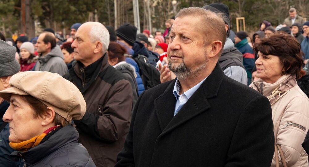 Slovenský politik Štefan Harabin