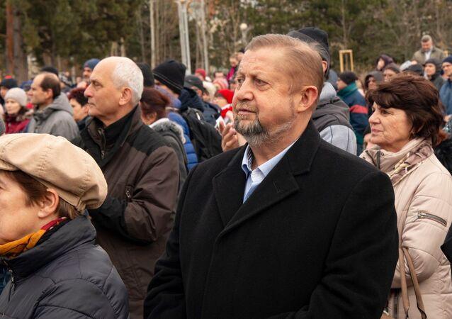Lídr strany Vlast Štefan Harabin