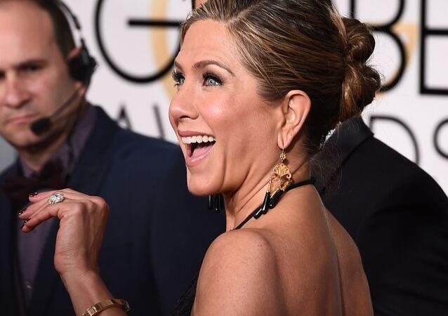 Hollywoodská herečka Jennifer Anistonová