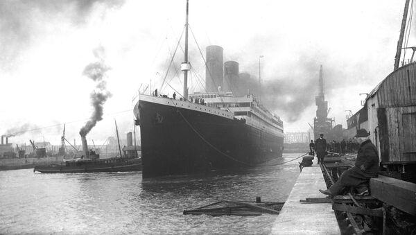 Titanik před vyplutím - Sputnik Česká republika