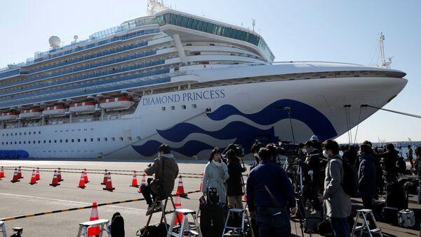 Výletní loď Diamond Princess - Sputnik Česká republika