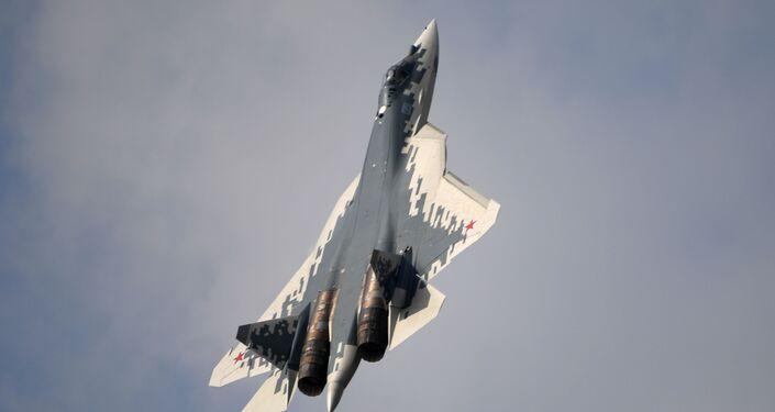 Ruský stíhací letoun páté generace Su-57