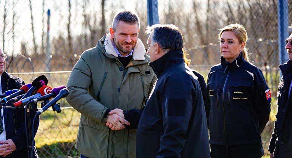 Slovenský premiér Petr Pellegrini na návštěvě Maďarska