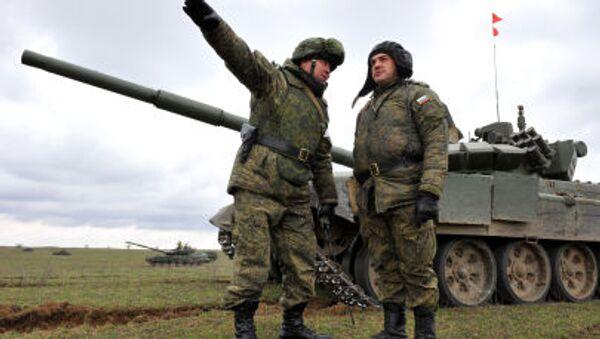 Cvičení ruských vojáků - Sputnik Česká republika