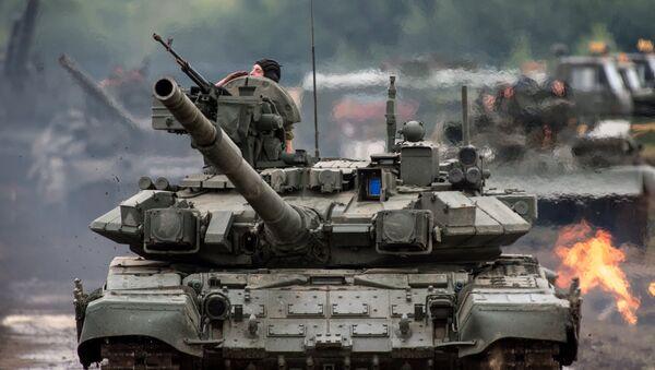Tank T-90 - Sputnik Česká republika