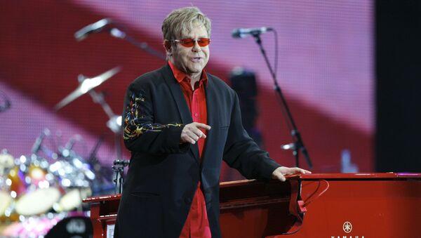 Britský zpěvák Elton John - Sputnik Česká republika