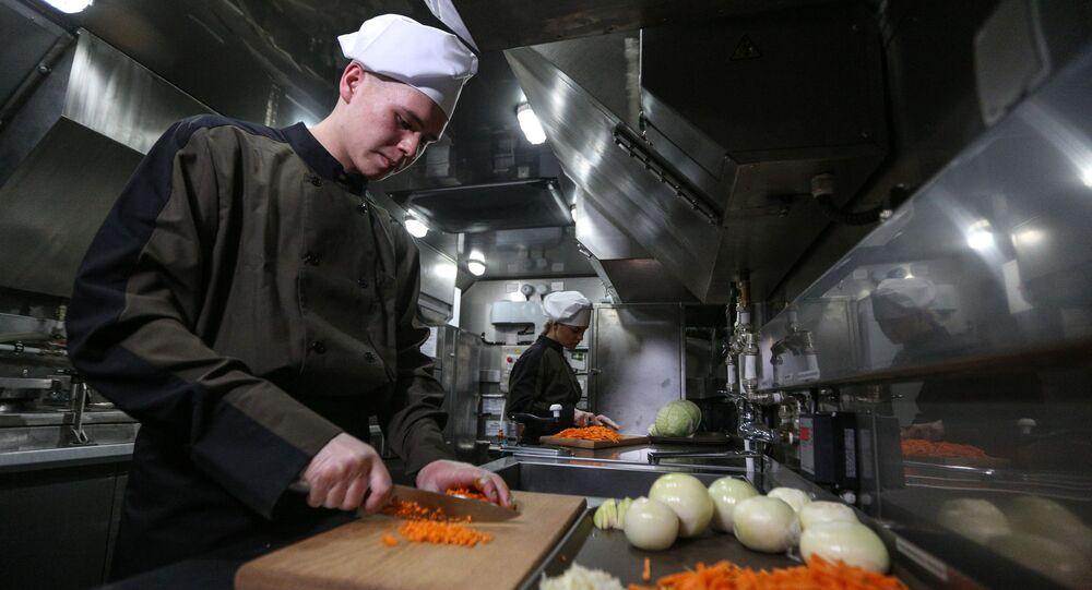 Kuchař. Ilustrační foto