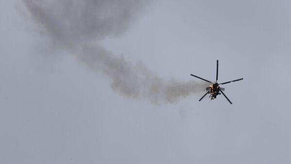 V Sýrii byl sestřelen syrský vojenský vrtulník - Sputnik Česká republika