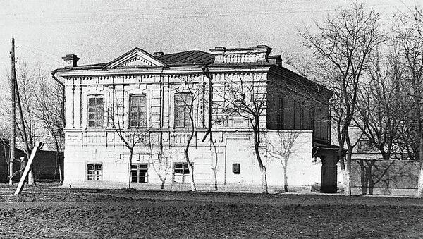 Budova dětského domu v Jejsku, jehož chovanci byli popraveni esesáky 9. října 1942 - Sputnik Česká republika