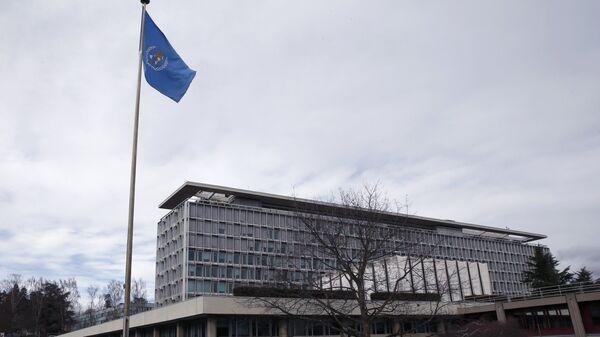 Sídlo Světové zdravotnické organizace (WHO) v Ženevě, Švýcarsko - Sputnik Česká republika