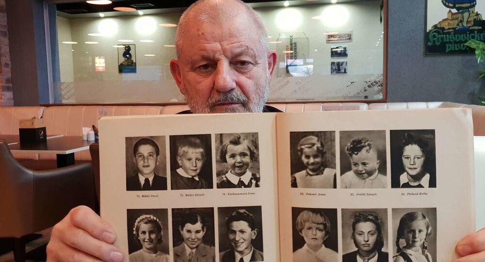 Jiří Pitín přežil řádění nacistů v Lidicích