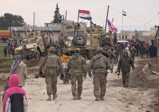 Konflikt s účastí vojáků armády USA v Sýrii