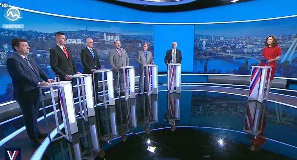 Debata na TV Markiza