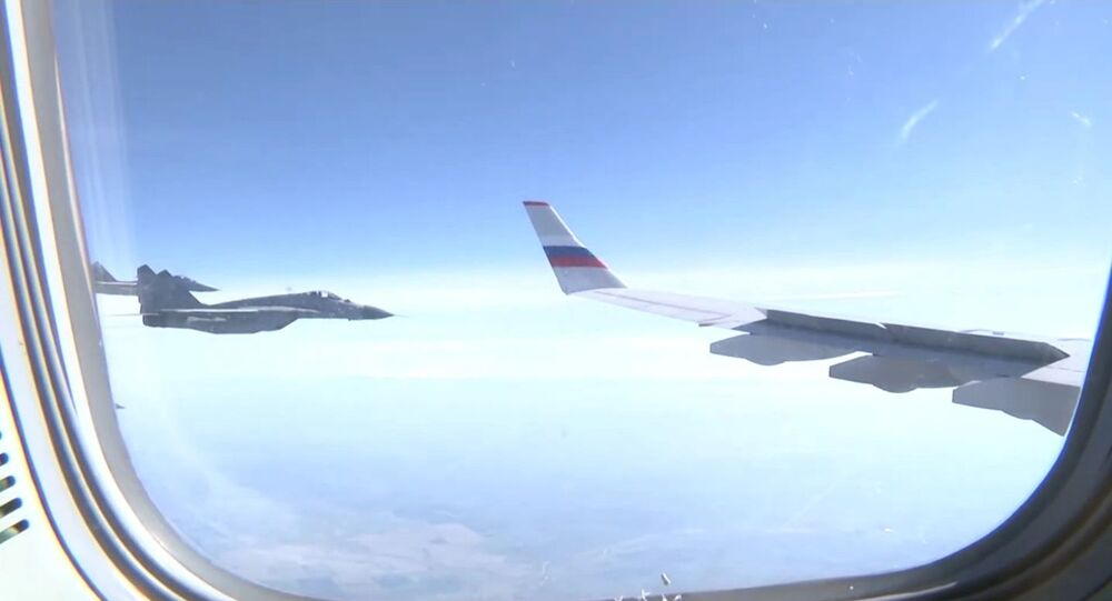 Srbské Migy-29 doprovázely letoun ruského ministra obrany Šojgu