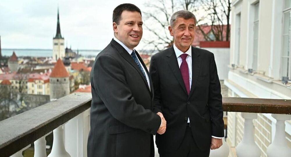 Setkání premiéra Andreje Babiše s premiérem Estonska Jürim Ratasem