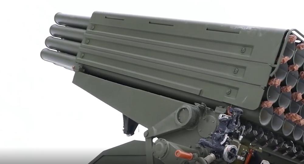 Nová jednotka ruské výzbroje. První záběry výkonné salvy z modernizovaného raketometu Grad