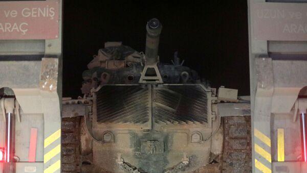 Turecká vojenská technika v provincii Idlib - Sputnik Česká republika