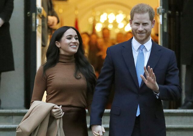Princ Harry a Meghan Markleová v Londýně