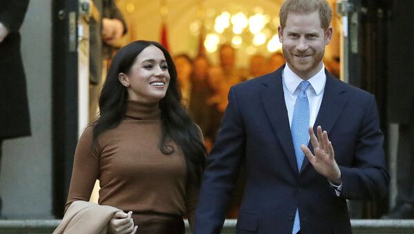 Princ Harry a Meghan Markleová v Londýně - Sputnik Česká republika