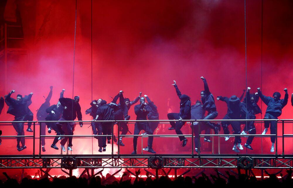 Vystoupení Stormzyho na Brit Awards 2020
