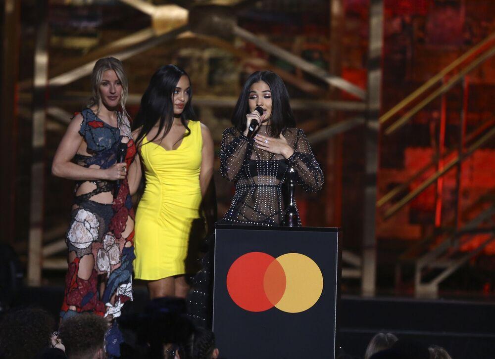 Zpěvačka Mabel získala ocenění na Brit Awards 2020 v Londýně