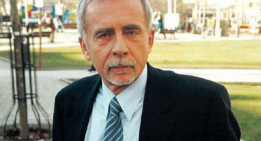Český právník a politik Stanislav Křeček