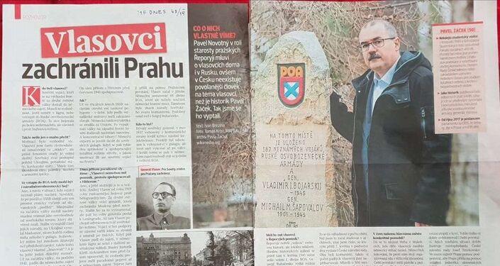 Rozhovor s Pavlem Žáčkem v MF Dnes