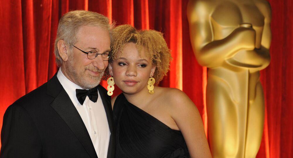 Steven Spielberg a Mikaela Spielbergová