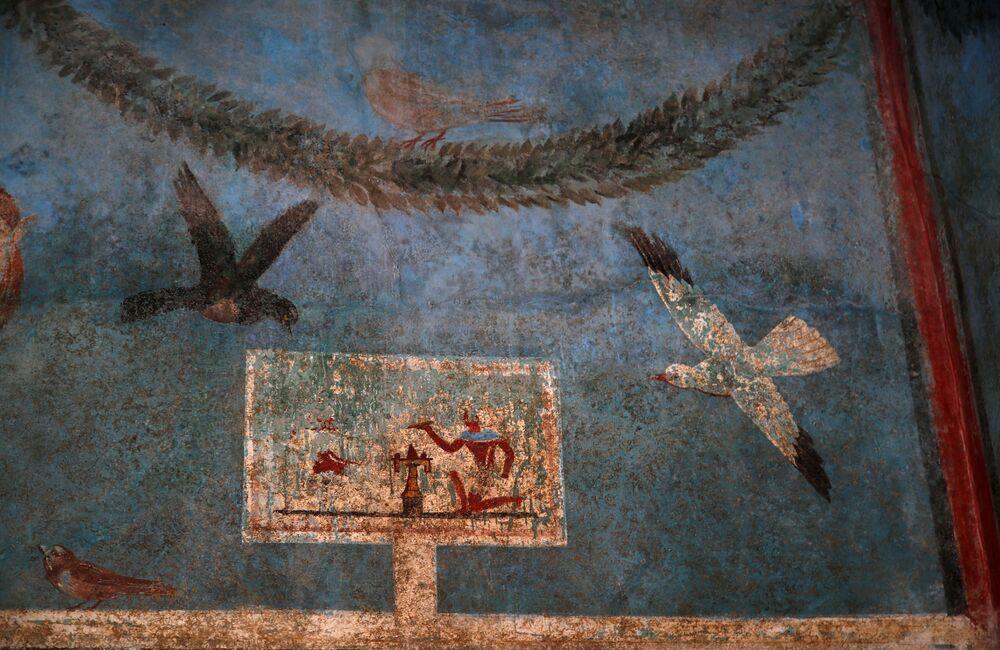 Oživený luxus. Vily s jedinečnými freskami v Pompejích za návštevu stojí
