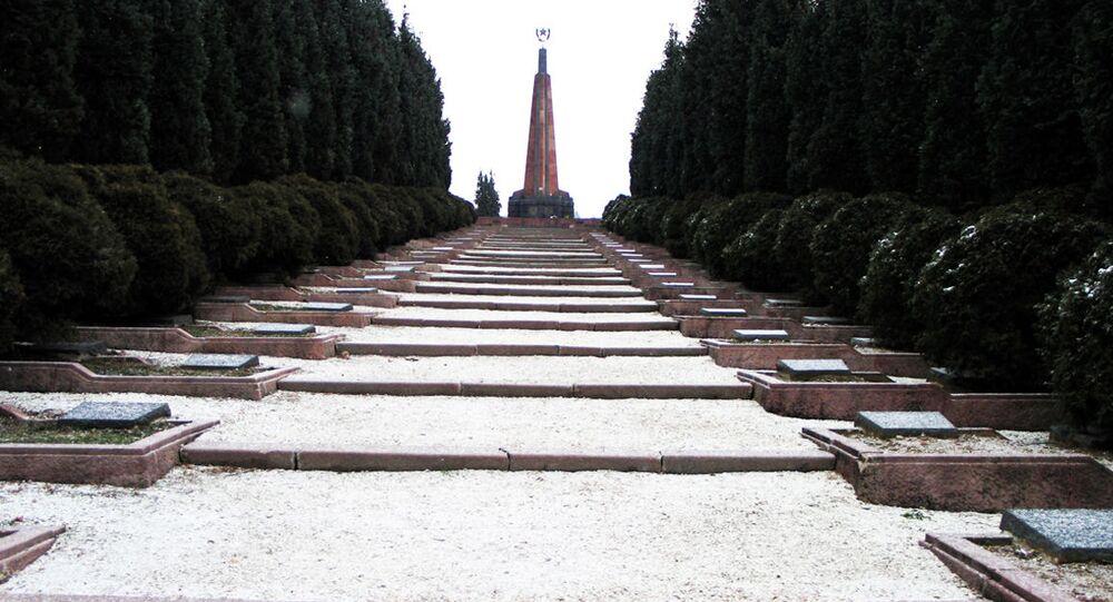 Vojenský hřbitov ve Zvolenu