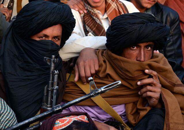 Členové hnutí Tálibán v provincii Farah (archivní foto)