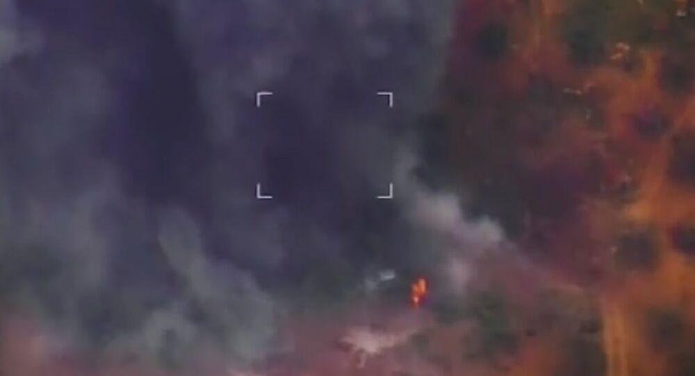 Bylo uveřejněno video zachycující odražení útoku bojovníků v Idlibu