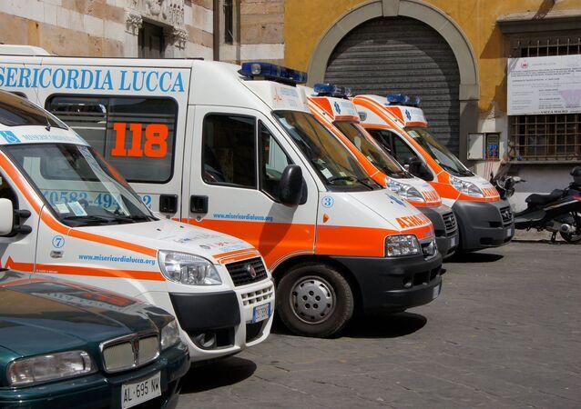 Itálské sanitky
