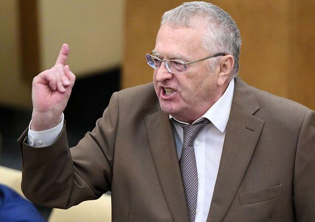 Předseda LDSR Vladimir Žirinovskij