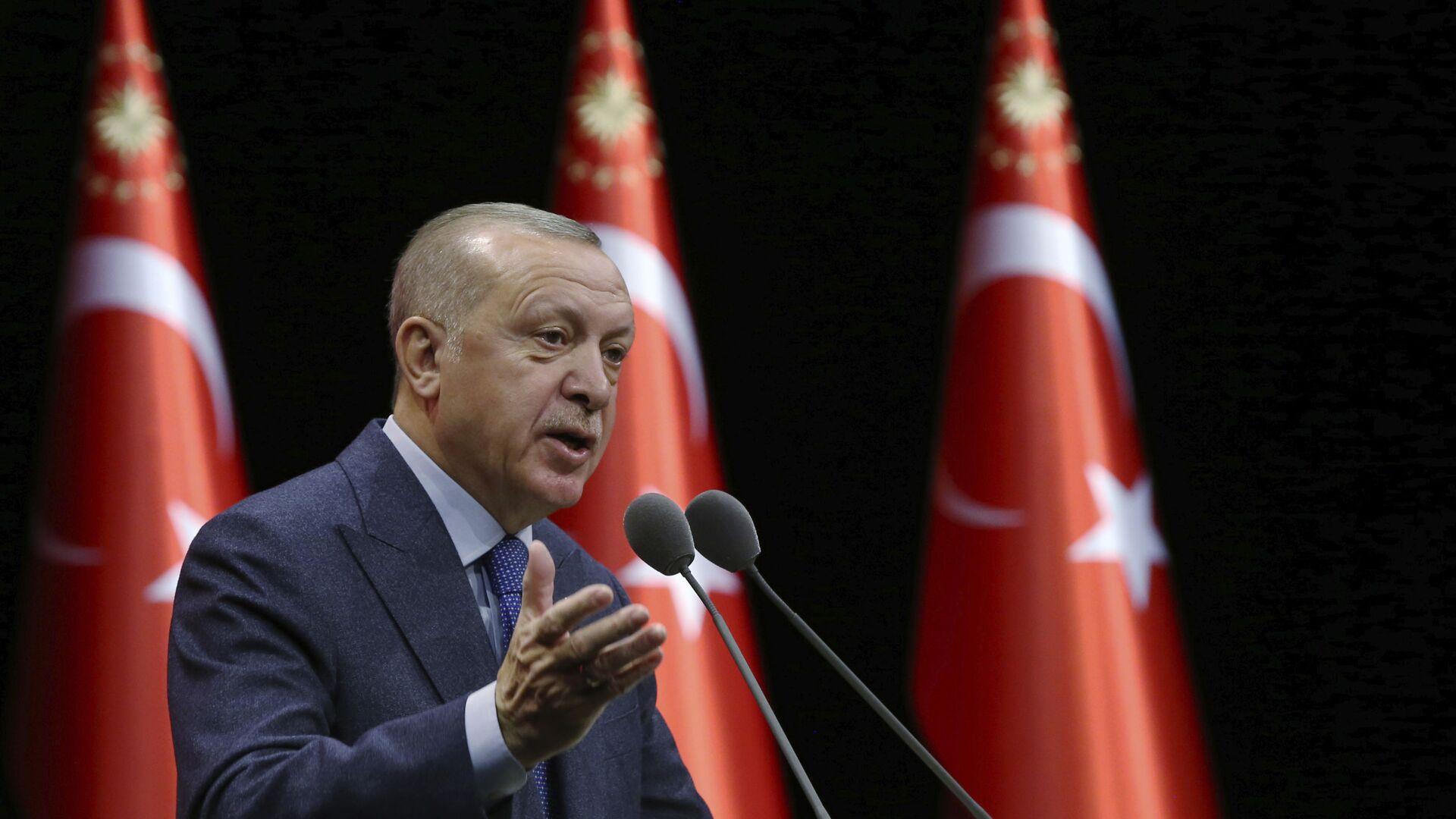 Turecký prezident Recep Tayyip Erdogan - Sputnik Česká republika, 1920, 18.05.2021