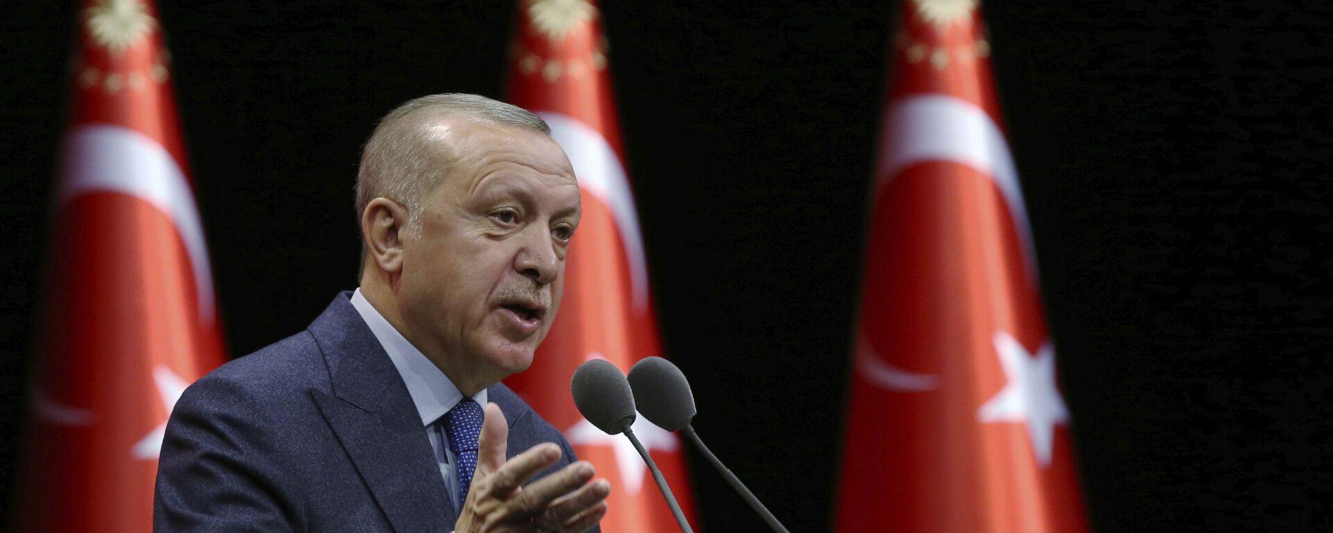 Turecký prezident Recep Tayyip Erdogan - Sputnik Česká republika, 1920, 17.06.2021